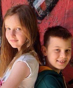 Eva and Finn